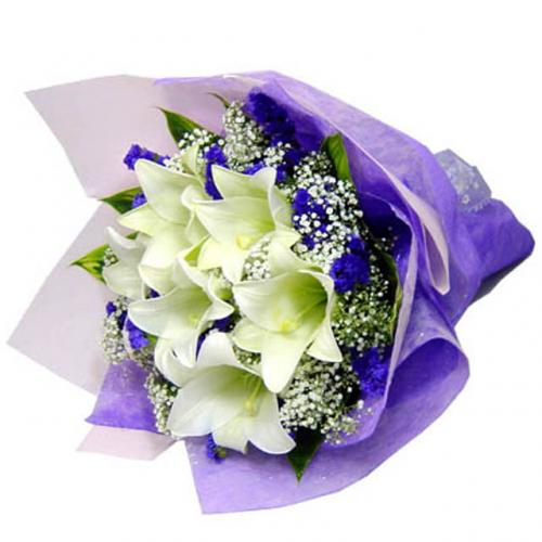 Lavender Dream Allium Florist Kuching Online Florist Flower Delivery